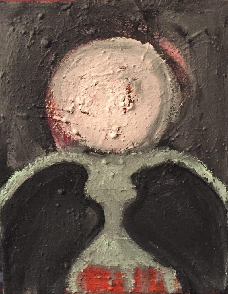 Lena Kühl Acryl på lærred 28 x 36 cm