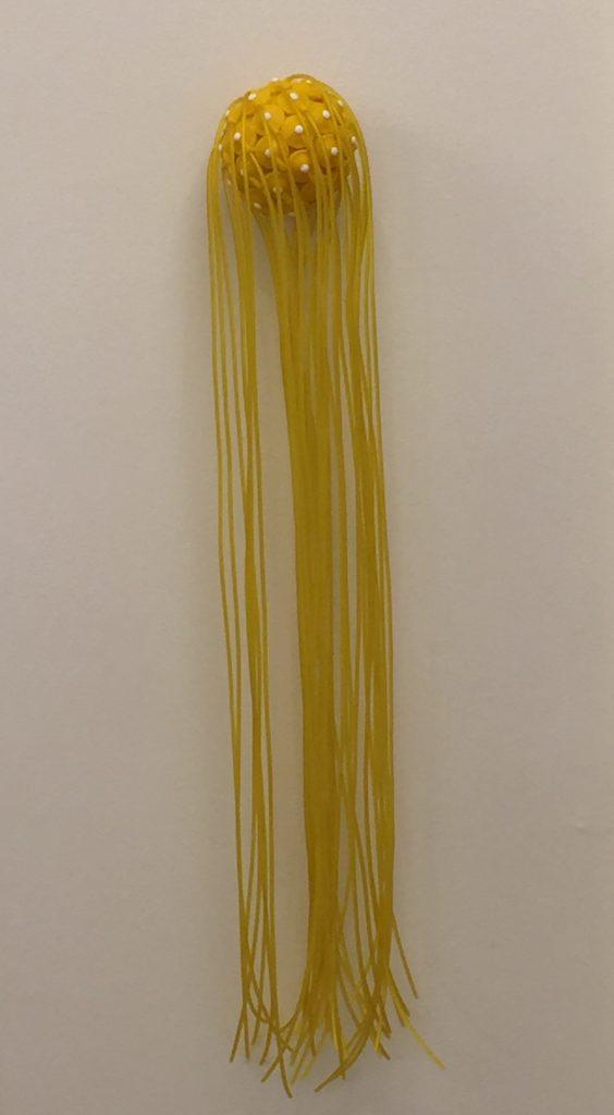 Tore Nørby Hansen Resin, akryl, gummi 9,5 x 66 cm