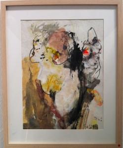 "Pia Bodil Andreasen ""Kvinder"" 53 x 43 cm"