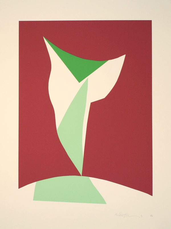 Richard Mortensen Farveserigrafi