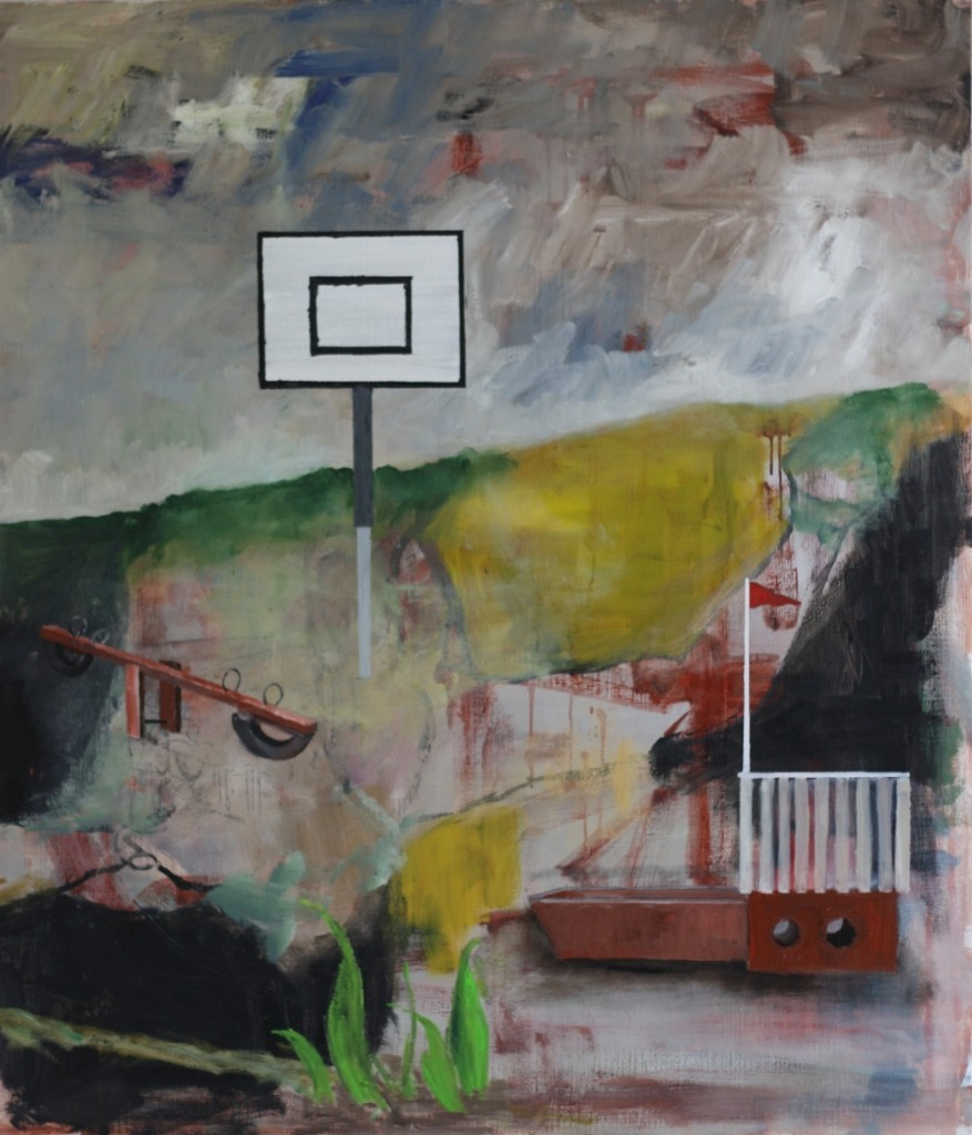 Søren Romby Maleri 120x105 cm