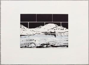 John Kørner Black Adidas, 2015 Spit bite Aquatint, Drypoint 39,5 x 54 cm